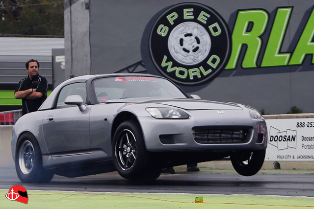 "KING Alex ""Russian Bullet"" Honda S2000 runs 8's"