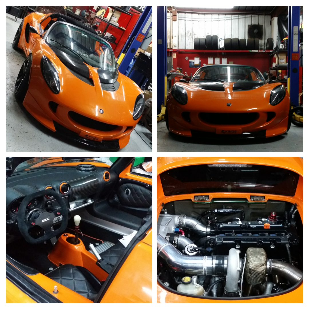the kp lotus elise k20 turbo project is done