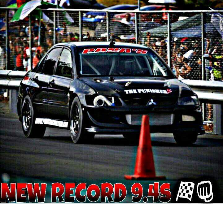 Pana's Racing 1st time out sets Panama's EVO 1/4 mile Record