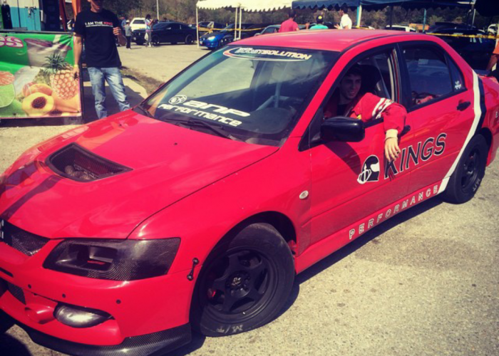 """El Parce EVO9"" runs 9.38 @ 157mph resetting the Venezuela's fastest 4cyl."