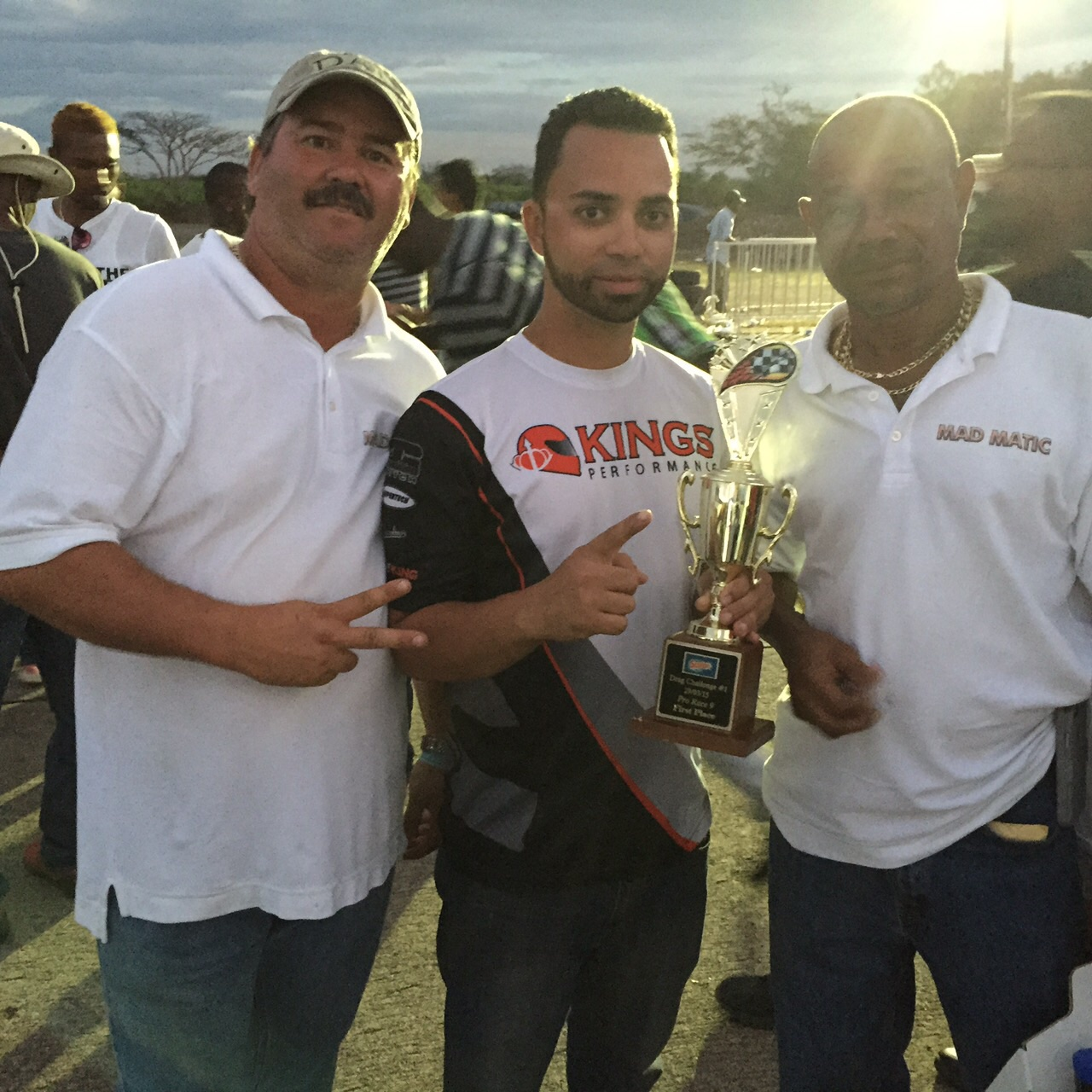 "KING Michael ""Bad Oil"" Williams resets Jamaica's Import 1/4 mile Record"