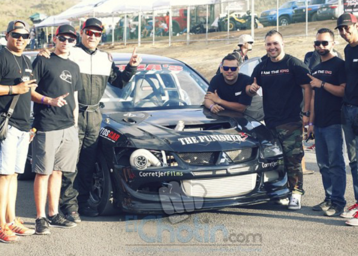Pana's Racing Punisher 3 EVO8 does it again!