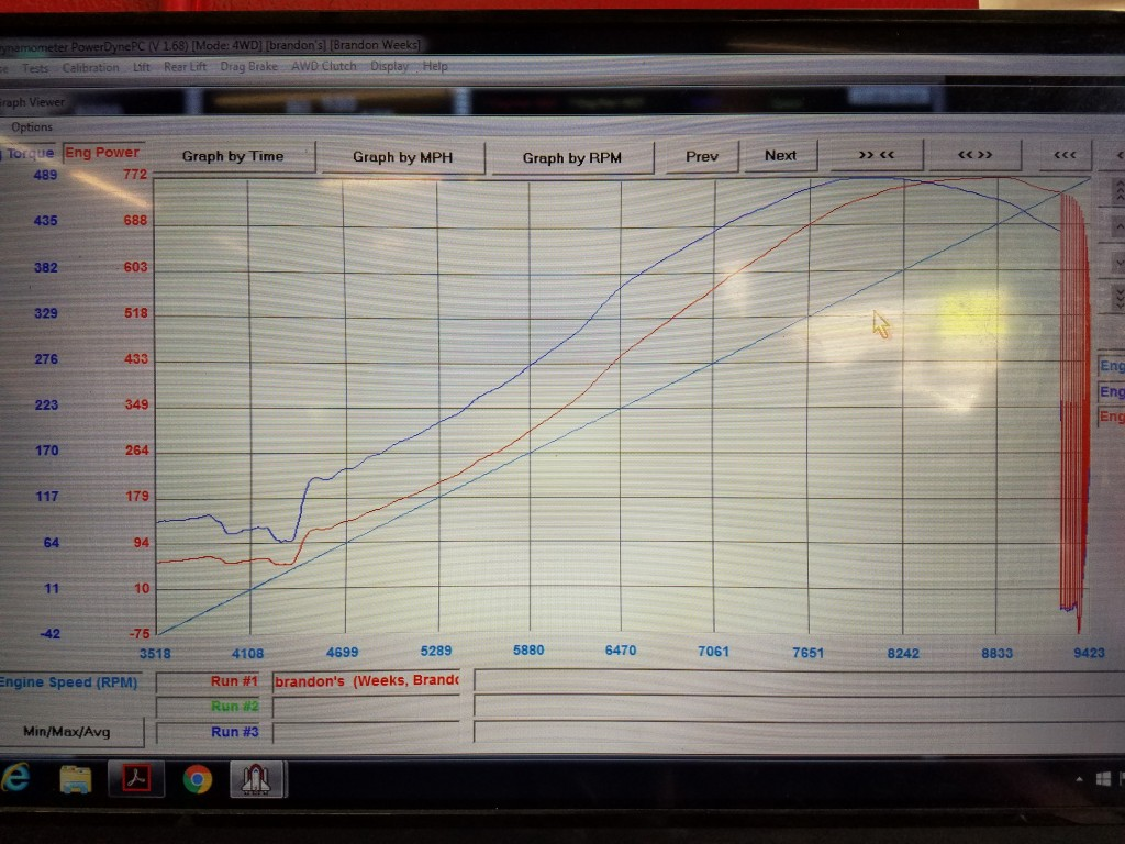 KING-Brandon-EVO8-Dyno