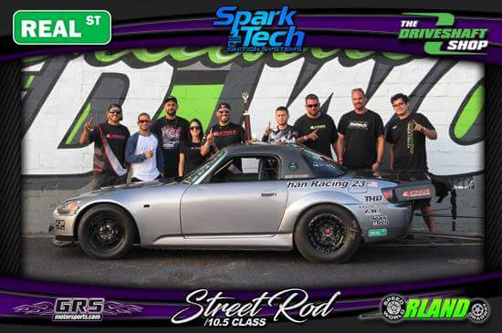 The KP/Alkhan Racing S2000 wins the Street Rod class
