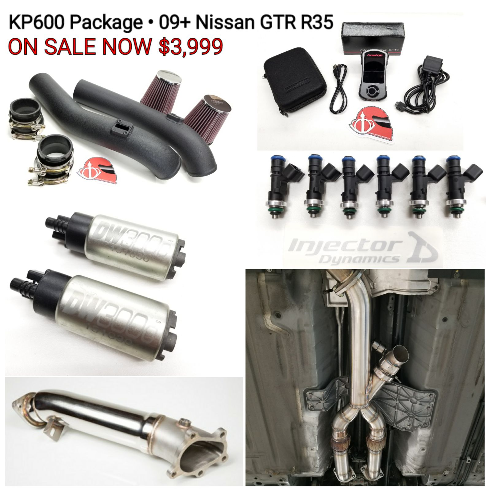 KP600 Nissan GTR R35 power package is here!